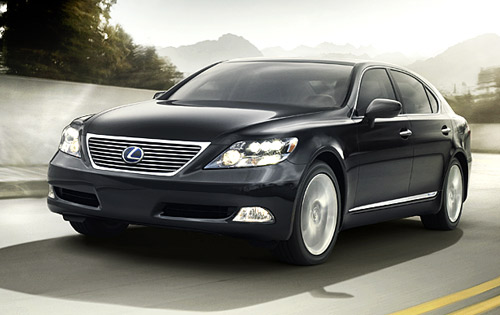 Exotic Sport Cars  The Cool Images Of Lexus LS 600H Car