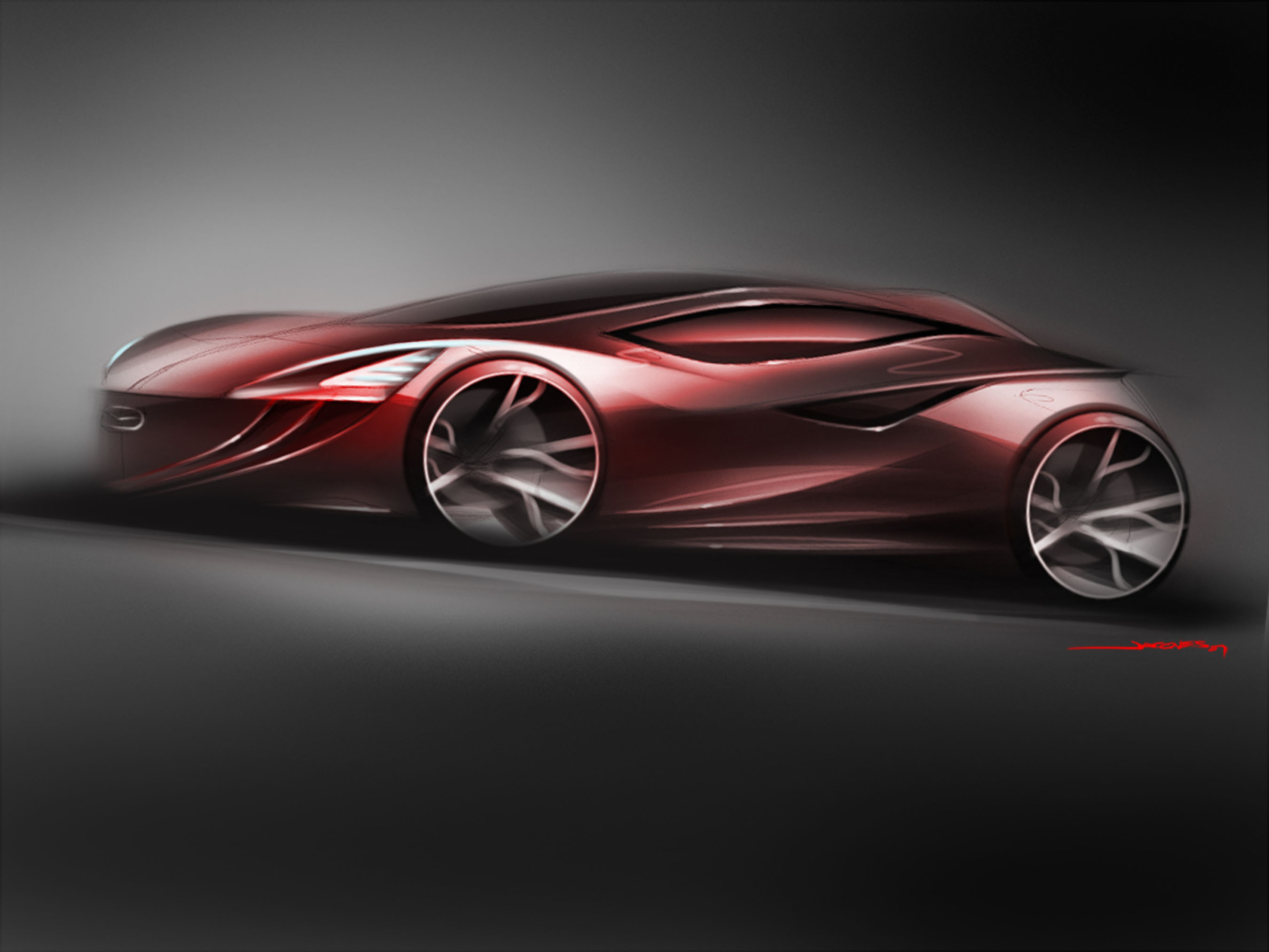 Mazda car wallpapers