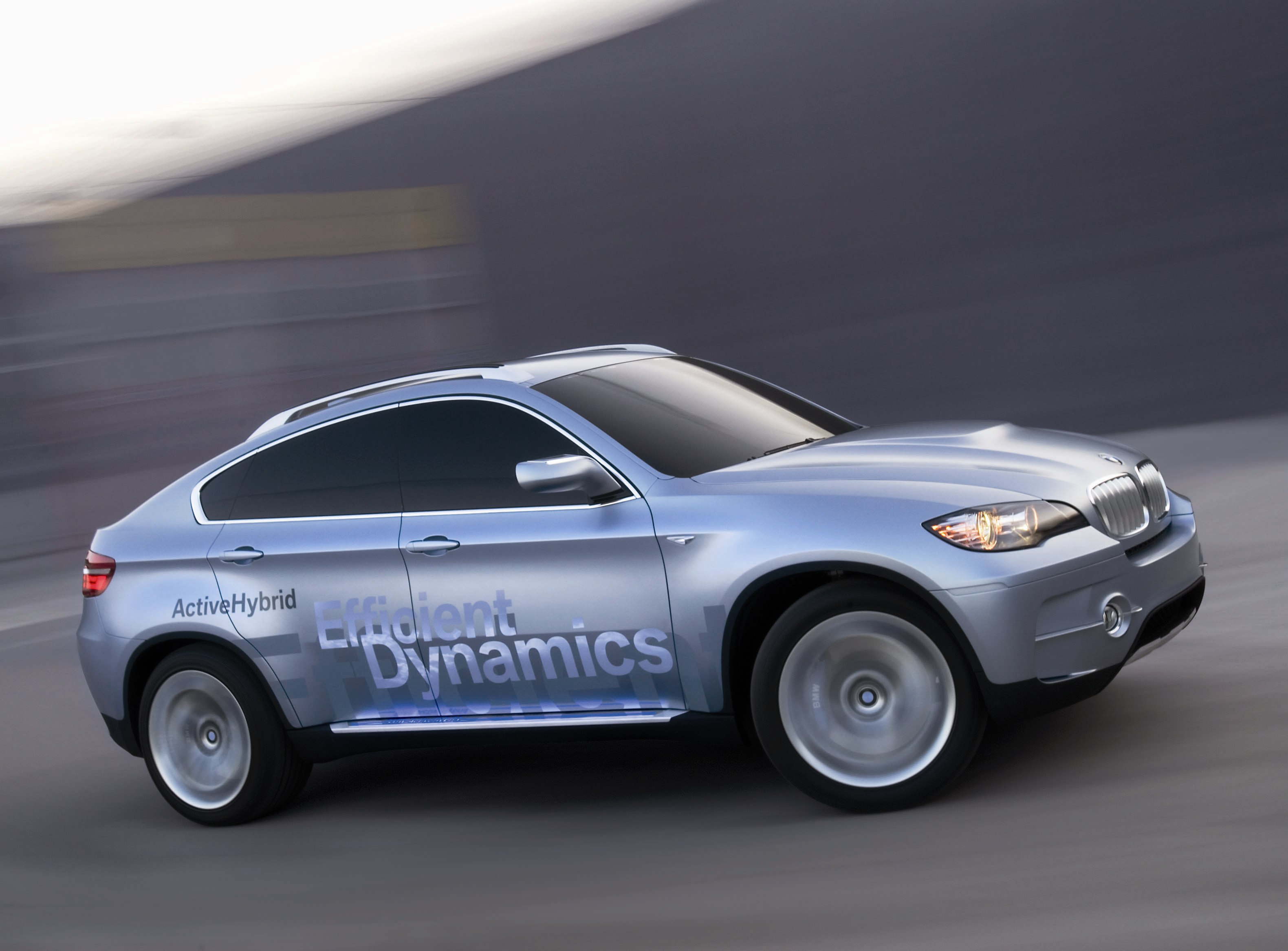 2008 Detroit Auto Show: BMW Concept X6 ActiveHybrid Revealed ...