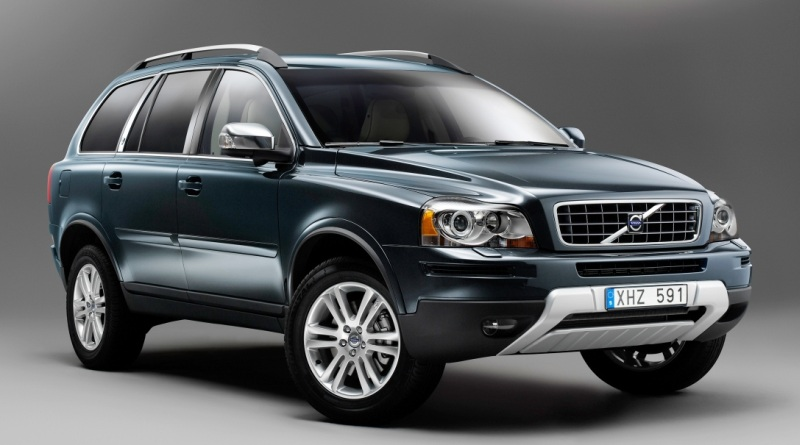 Luxury massage seats in the Volvo S80 and XC90 Executive