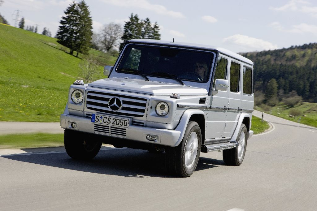 ... compelling performance: Mercedes-Benz G-Class - the show goes on