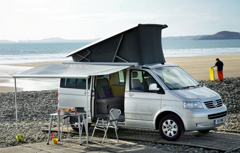 Jackie Ickx takes to the road in a Volkswagen California