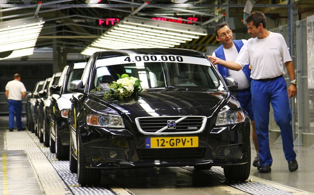 Used Volvo Xc60 >> Four Million Volvo Cars Built in Ghent Plant