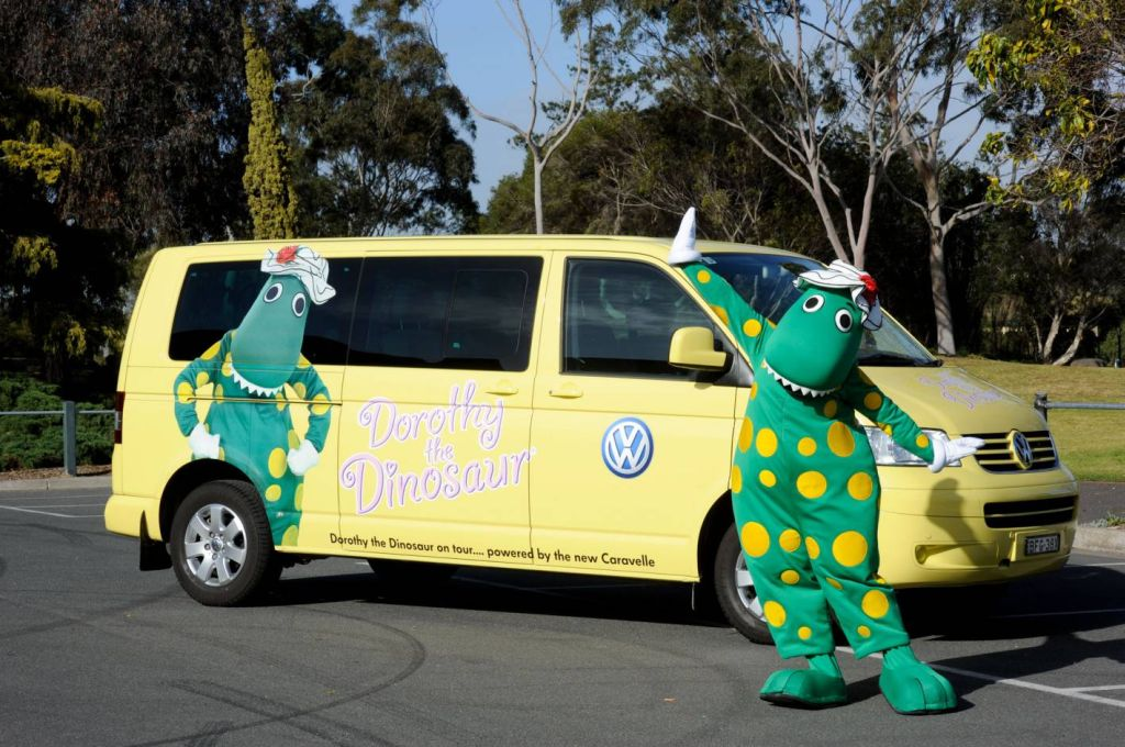 Dorothy the Dinosaur Chooses Volkswagen People Movers