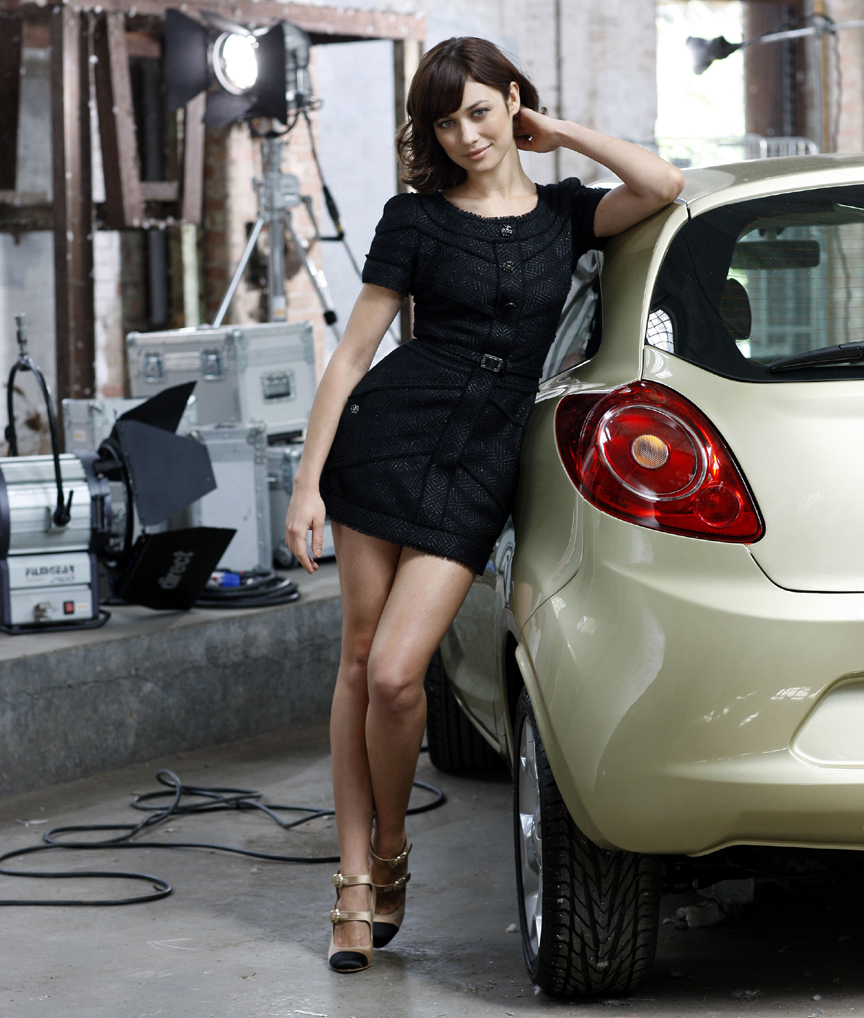 Introducing Bond Girl Olga Kurylenko First Driver Of The