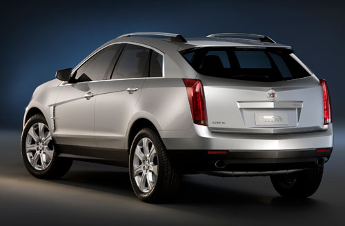 2010 Cadillac SRX Crossover Car Images