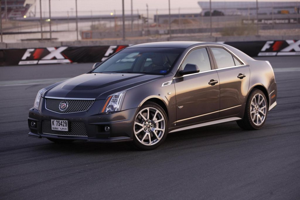 Cadillac Unleashes World S Fastest Production V8 Sedan In The Uae