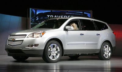 2009 Chevrolet Traverse 1LT 7-8-passenger Review