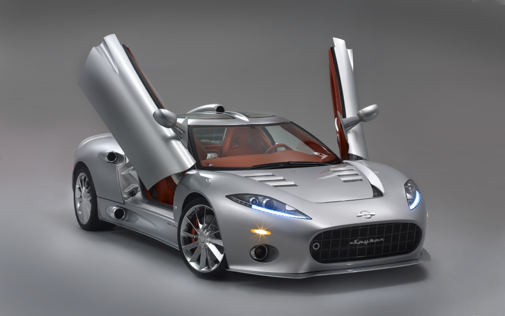 Discount Car Parts >> 2009 Geneva Auto Show - World Debut For The Production Version of the Spyker C8 Aileron