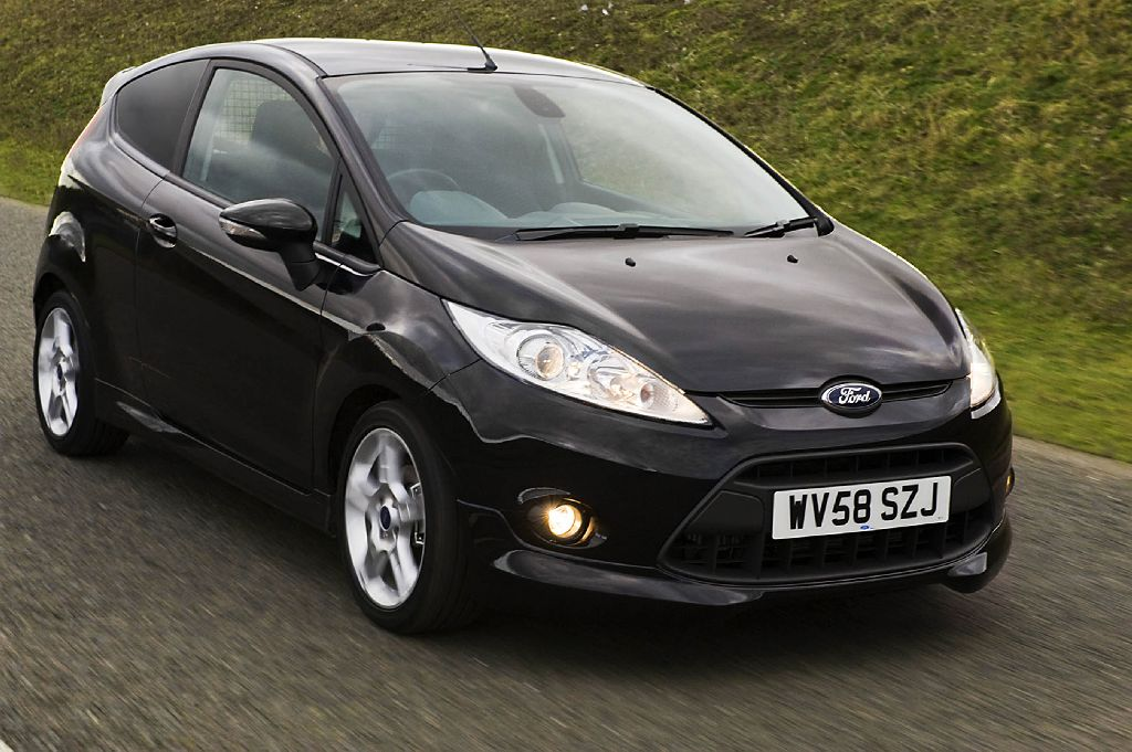 The new Ford Fiesta SportVan delivers the individual style, practicality and