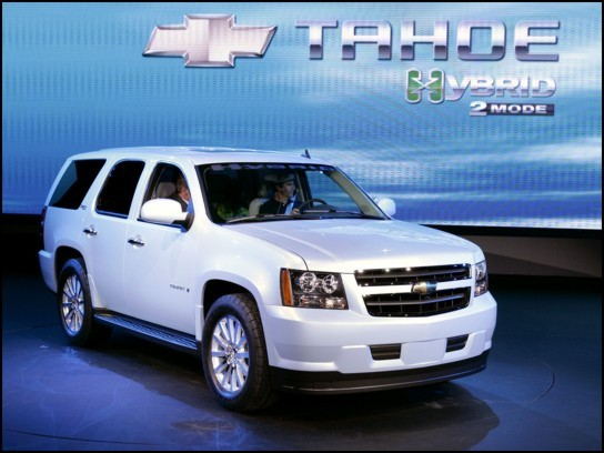 2009 Chevrolet Tahoe Hybrid Review