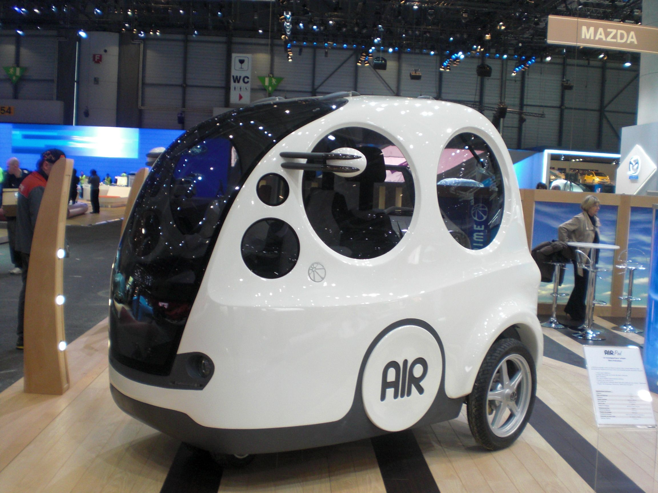 The Air Powered Car May Blow Into U S