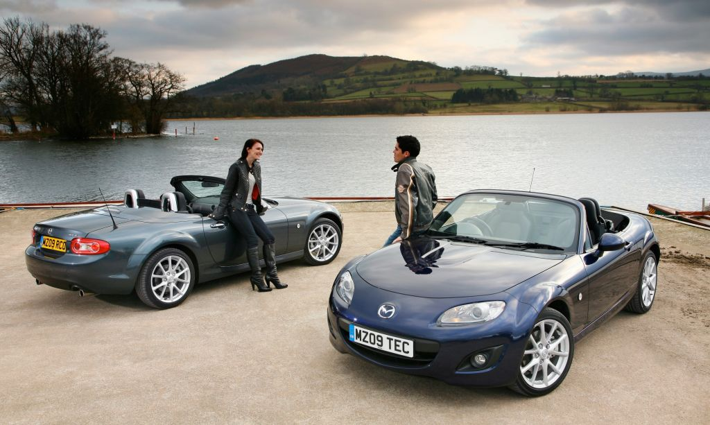 Mazda Mx 5 Roadster. and Mazda MX-5 Roadster