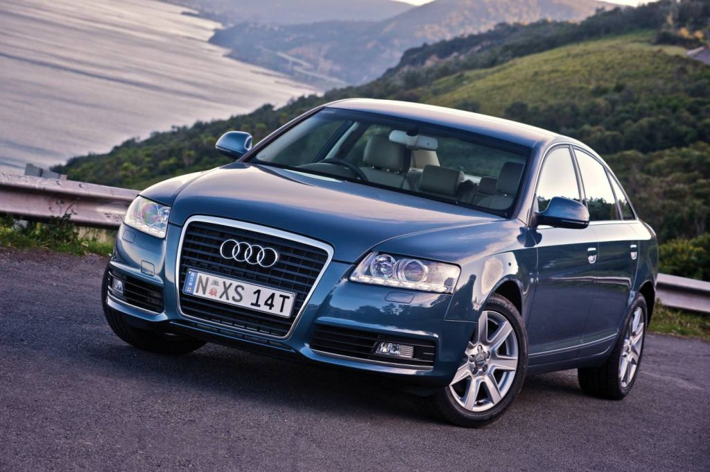 2009 Audi A6 Blue 200 Interior And Exterior Images