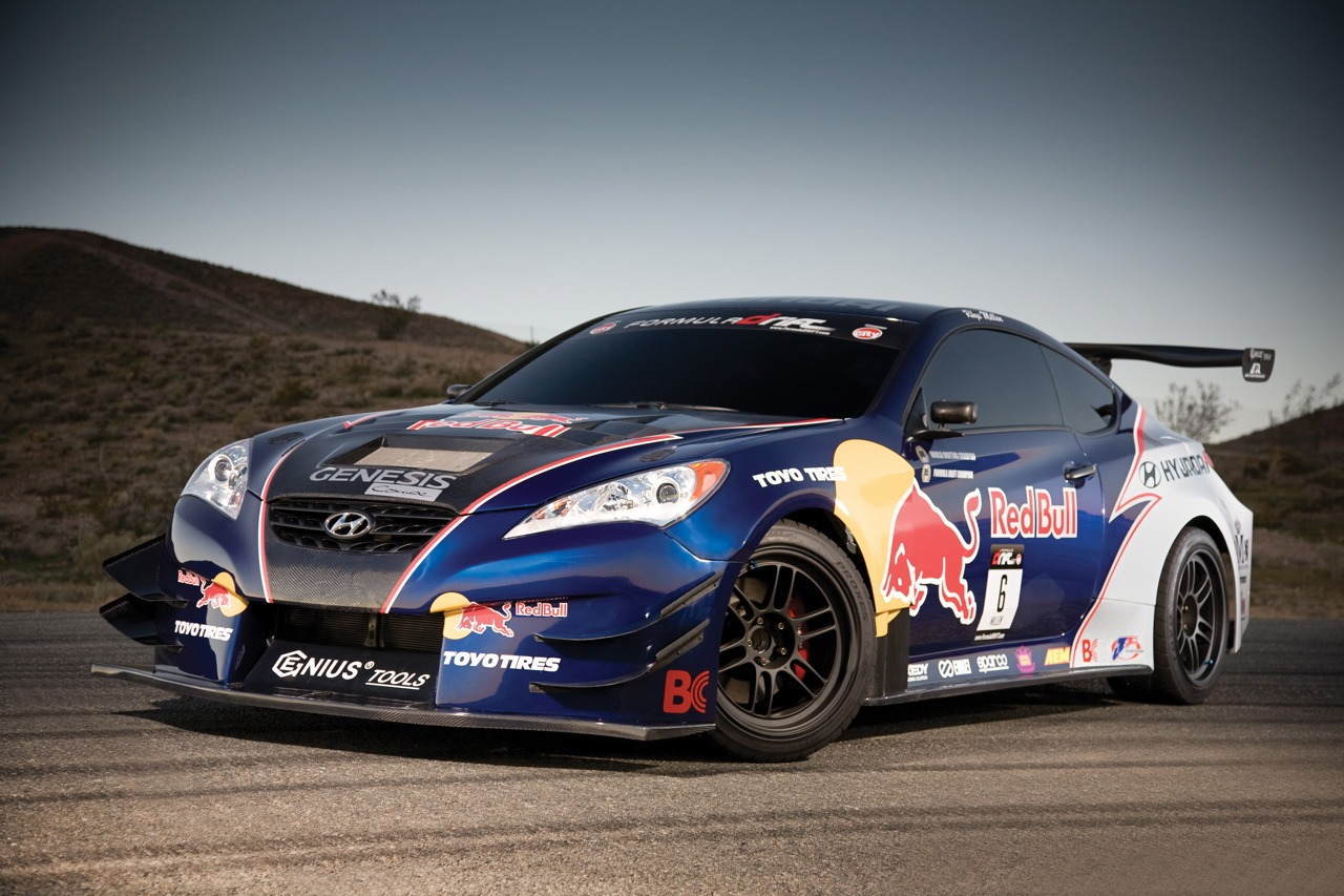 Red Bull Hyundai Genesis Coupe and Rhys Millen Set World ...