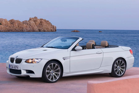 NADAguides.com Awards 2009 BMW M3 Convertible 'Car of the Month' for July