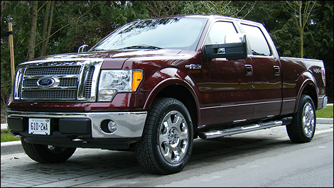 2009 ford f 150 lariat 4x4 platinum edition review. Black Bedroom Furniture Sets. Home Design Ideas