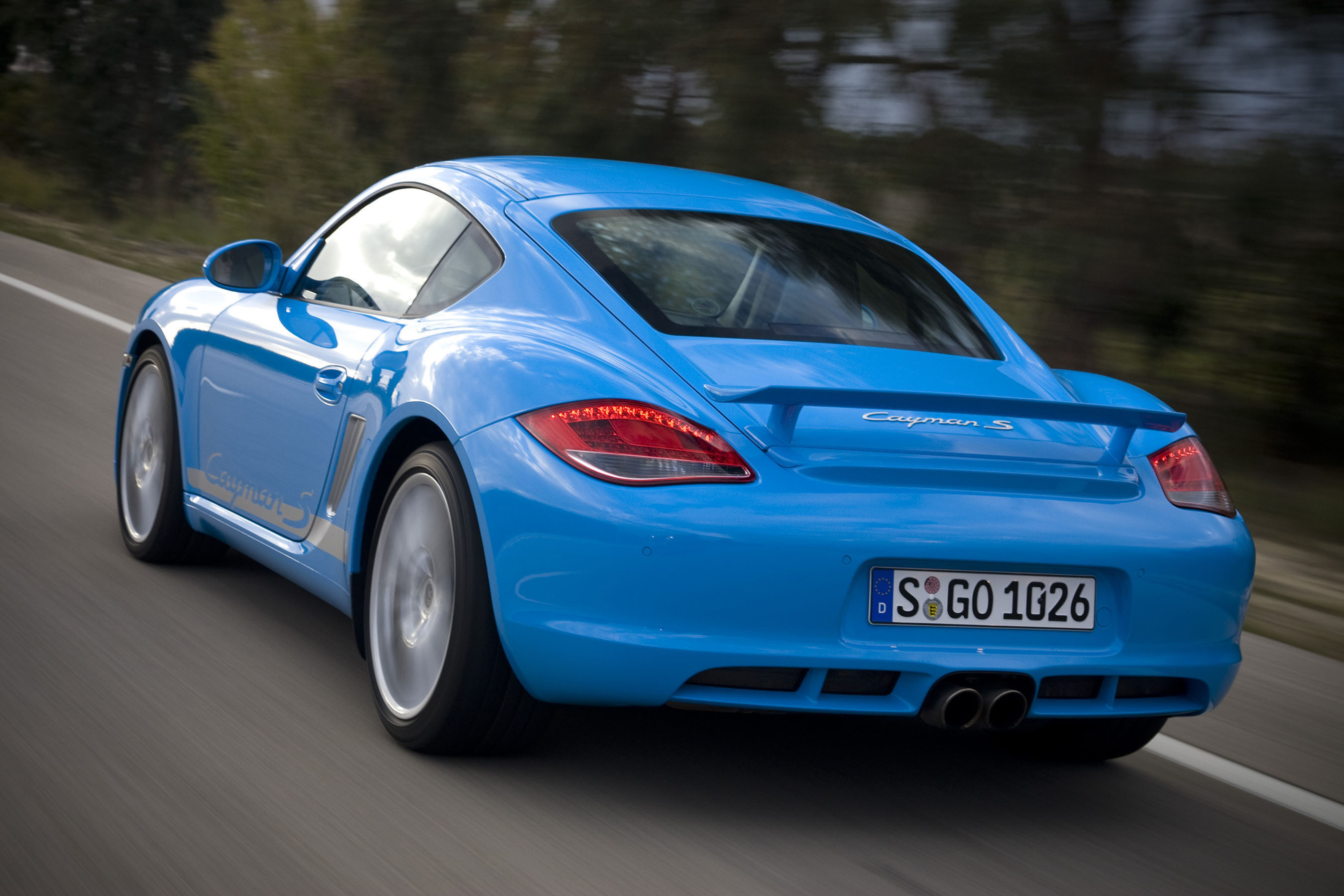 Porsche Cayman Recognized as