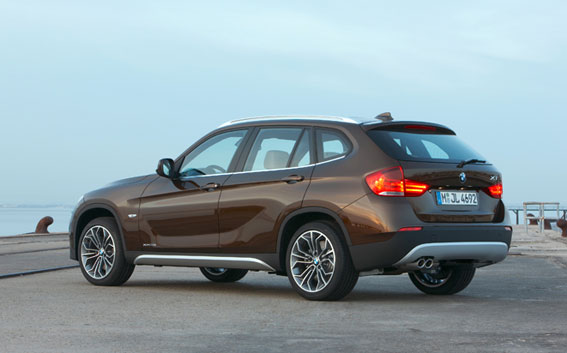 bmw x1 2010. On the road the X1 drives well