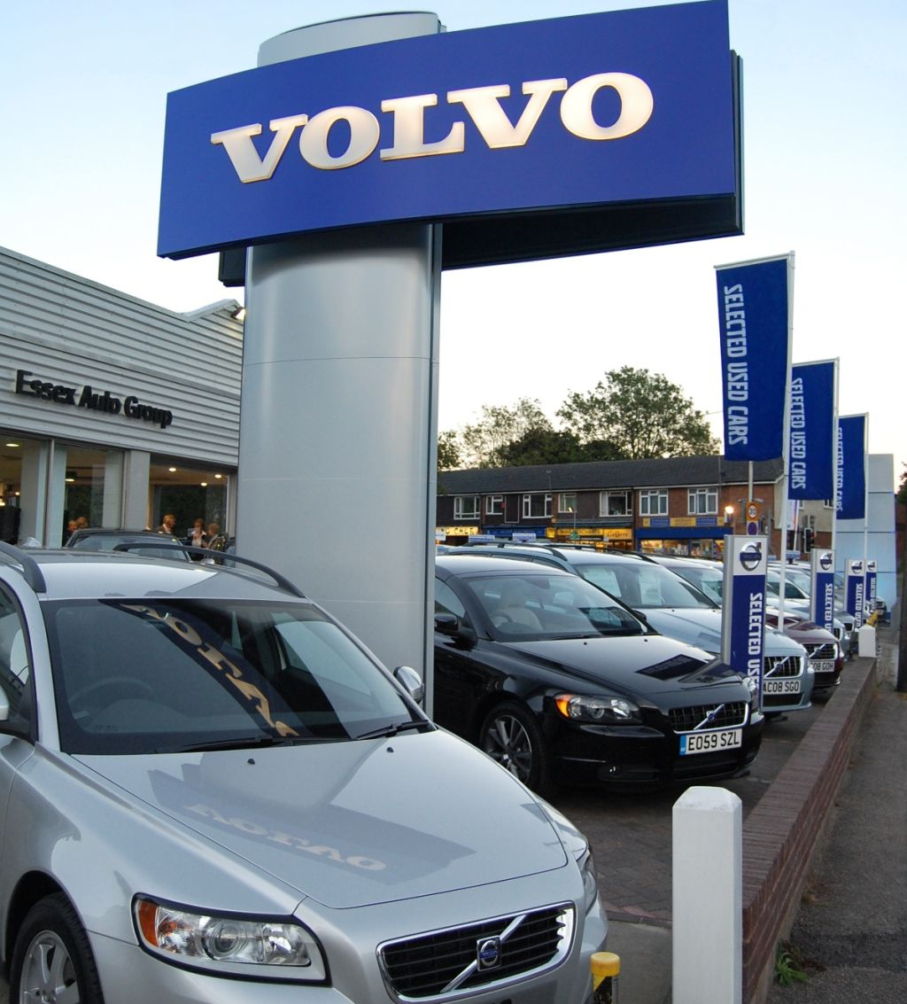 Volvo Auto Sales: Volvo Grows Dealer Network In Chesterfield And Billericay