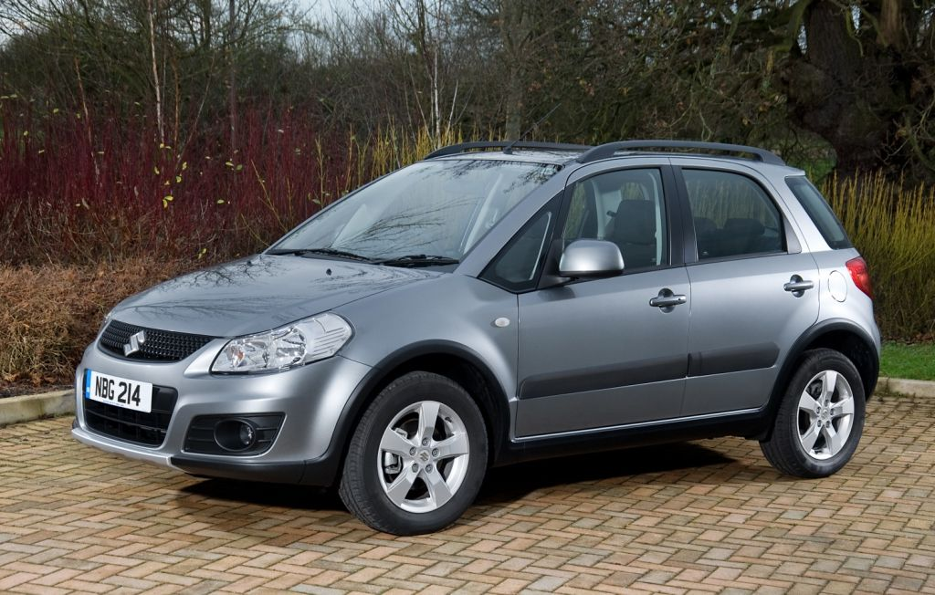Suzuki Sx4 Sport 2010. 2010 Model SX4: A Sport X-Over