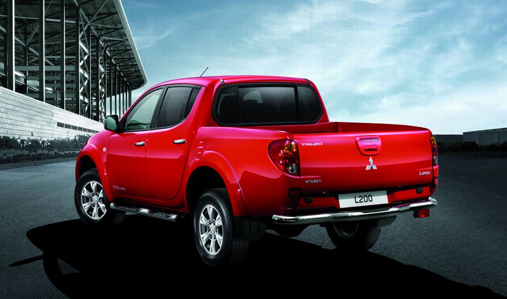 Mitsubishi Motors The L200 Trojan Double Cab Pricing