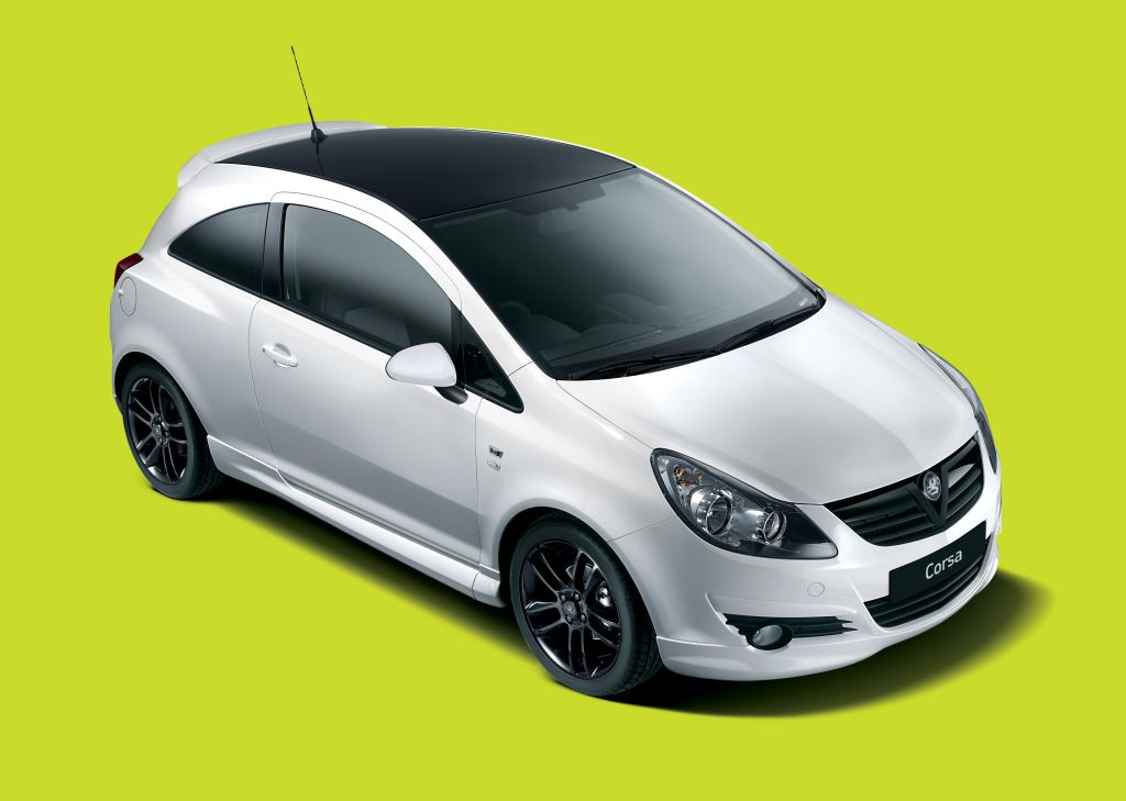New Vauxhall Corsa Limited Edition Spells It Out In Black And White