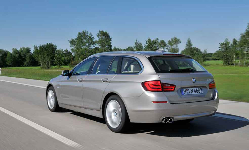 First Drive Review: 2011 BMW 520d Touring - VIDEO ENHANCED