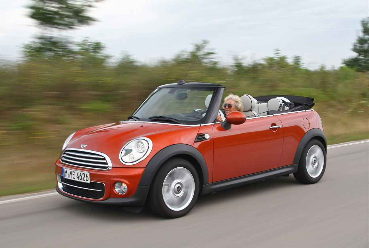 2011 mini cooper d convertible review first drive. Black Bedroom Furniture Sets. Home Design Ideas