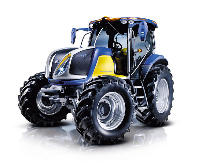 Hydrogen On Demand Reviews >> New Holland Zero Emission Tractor of the Future Makes ...