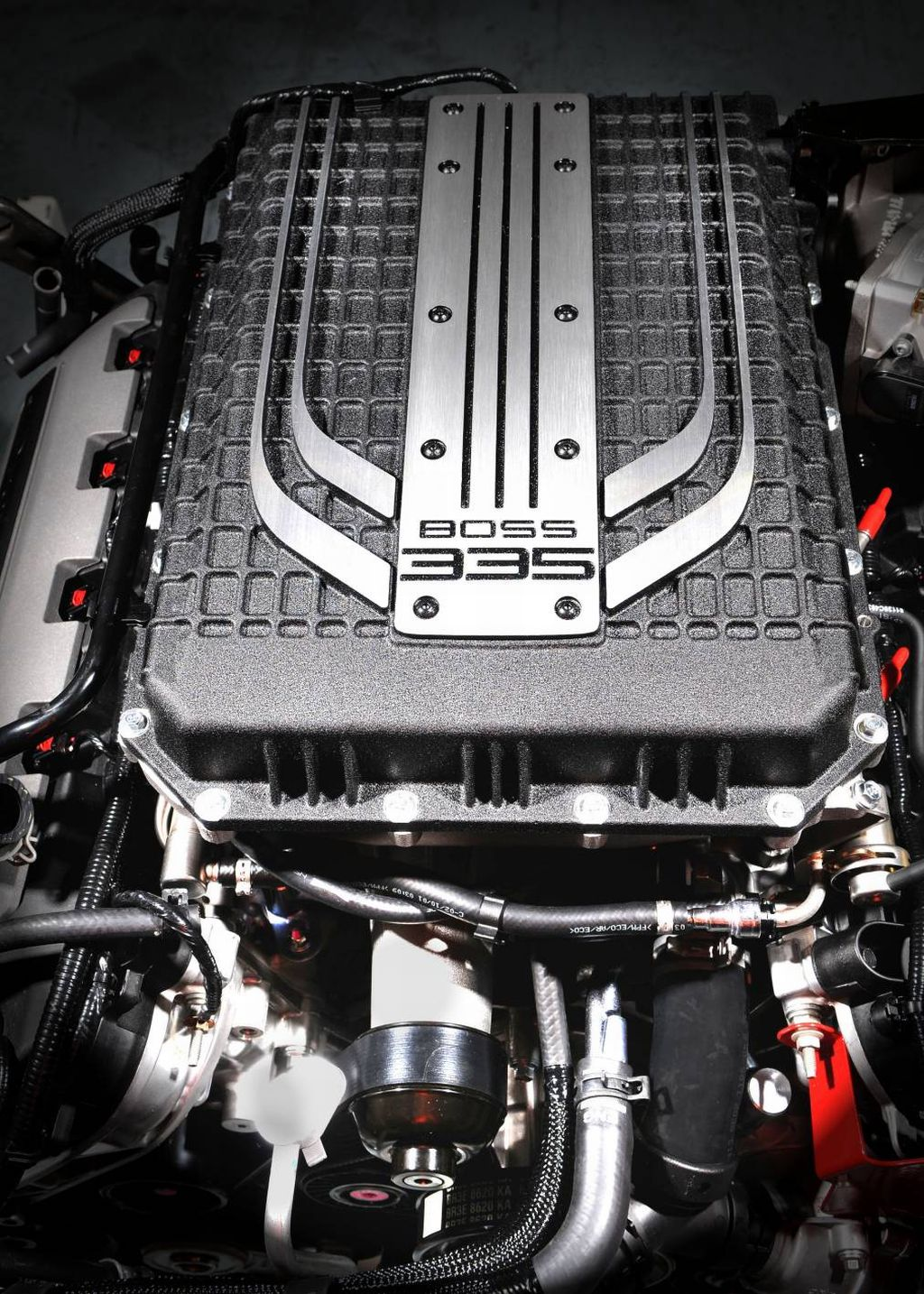 Supercharged V8 Engine