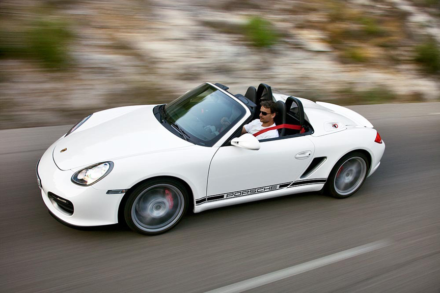 porsche boxster voted  sports car