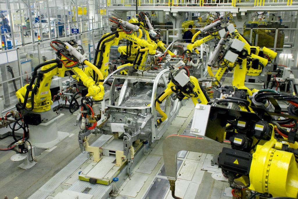 Hyundai opens manufacturing facility in russia for Motor manufacturers in usa