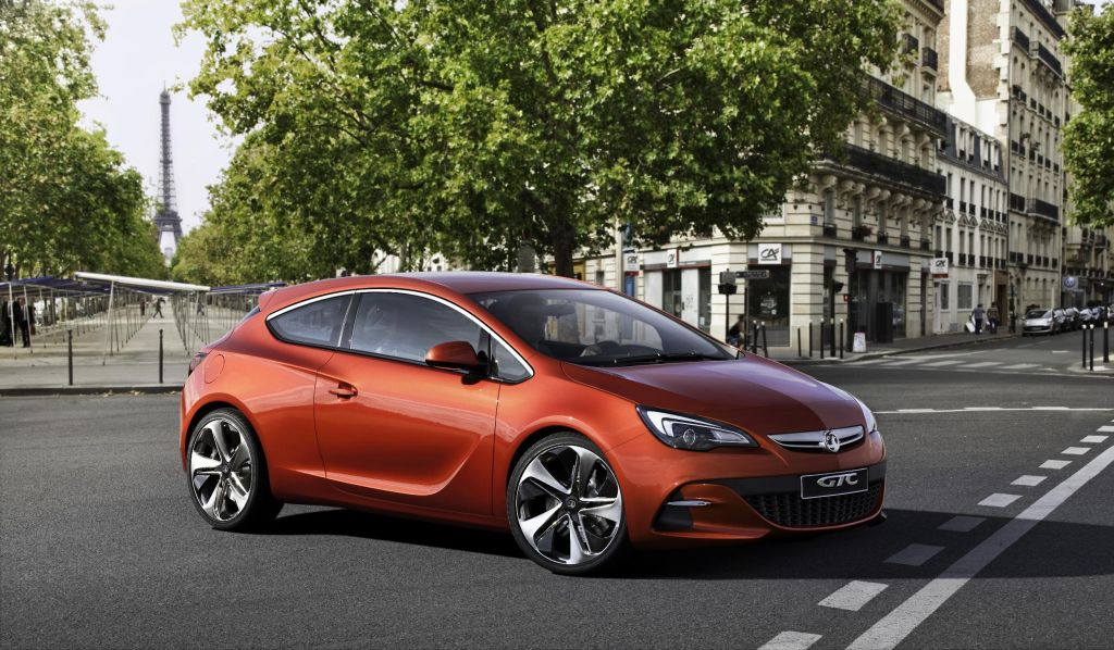 New Gtc Paris Pics Give Inside Line On Upcoming Astra 3 Dr