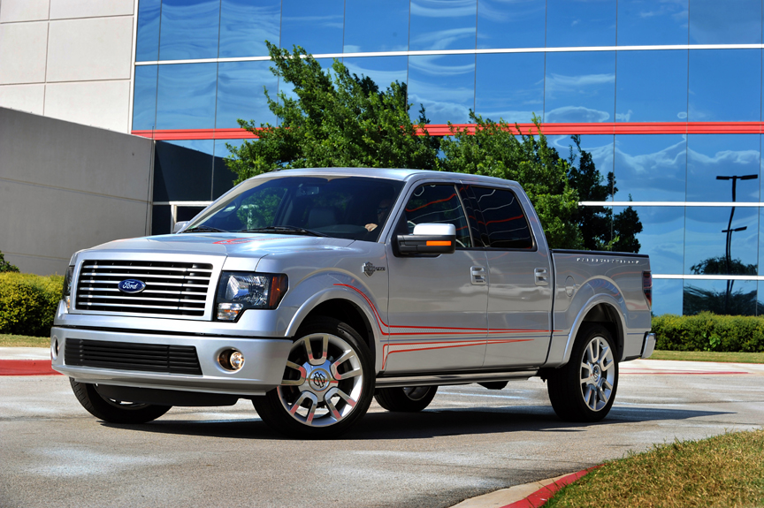 The new 3.7-liter V6 engine in the 2011 Ford F-150 is projected to