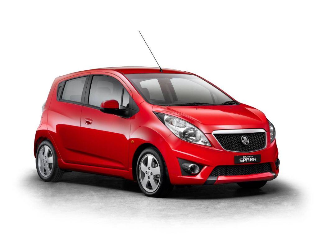 All New Holden Barina Spark To Fire Up Light Car Market