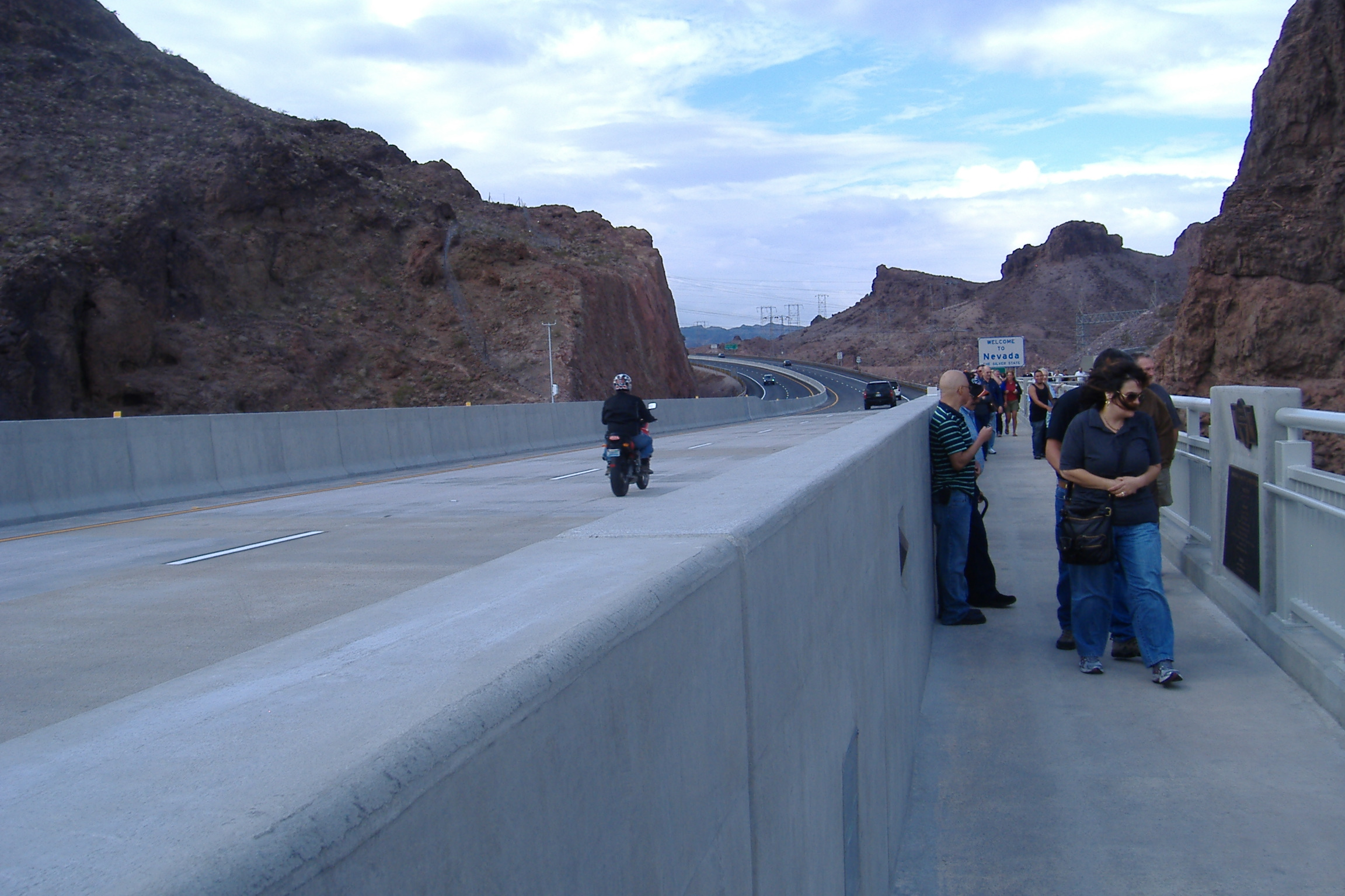 Used Cars Las Vegas >> New Hoover Dam Bridge Between Nevada and Arizona Opens to the Public - VIDEO ENHANCED