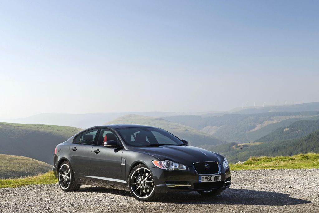 Jaguar Xfr Black Pack. Black Pack Delivers Bold New Look For Jaguar XF