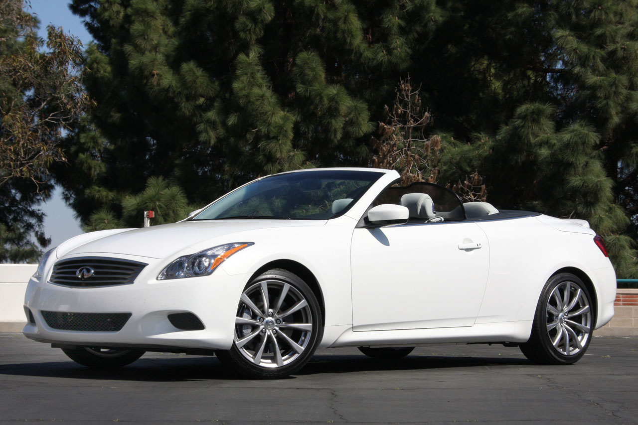 Infiniti g37 convertible a lot to like about this car you can have a manual transmission they styling is not wonderful it has some of that pinteres