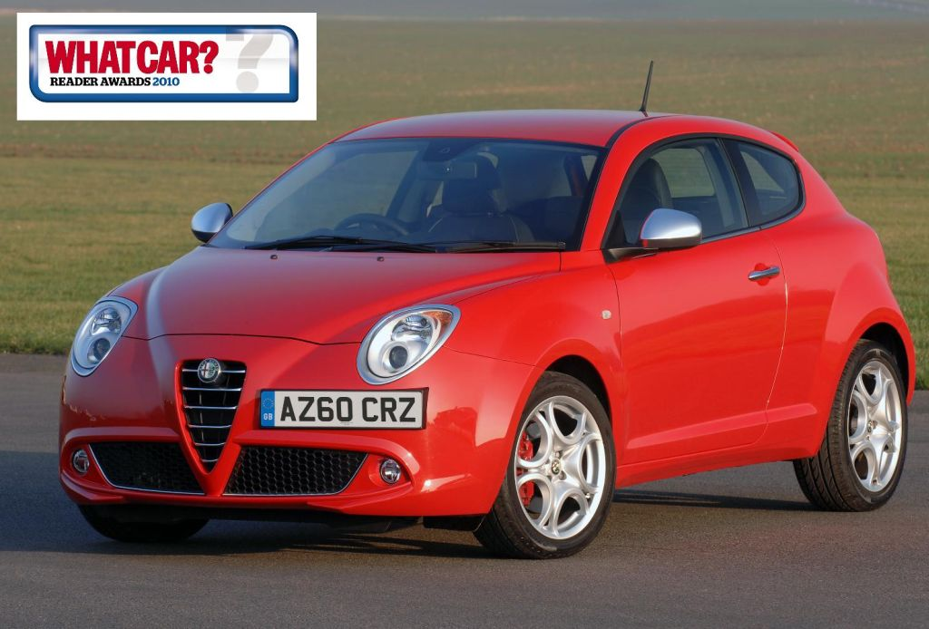 alfa mito wins best supermini in what car reader awards 2010. Black Bedroom Furniture Sets. Home Design Ideas