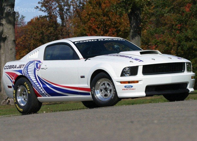 FORD RACING ANNOUNCES 2012 COBRA JET MUSTANG