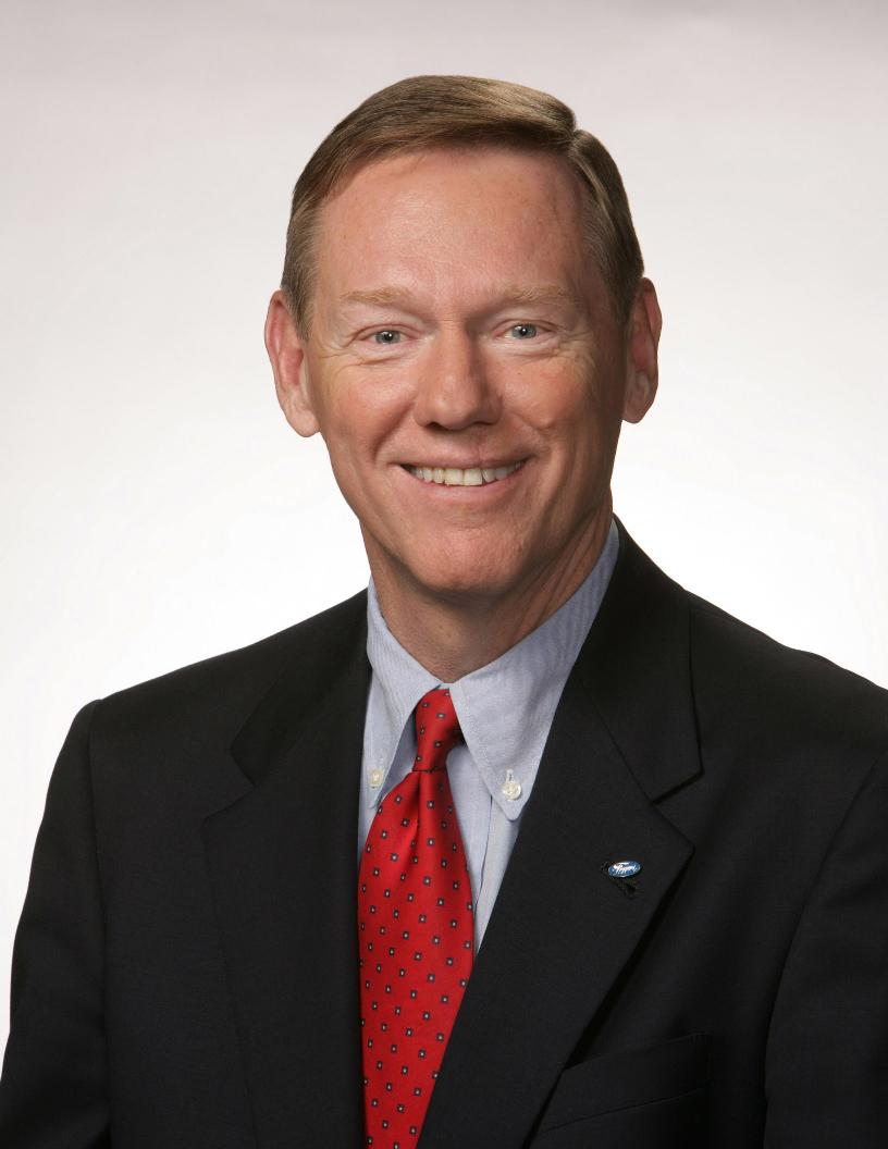 Ford ceo mulally receives 26 5 million for Ford motor company alan mulally