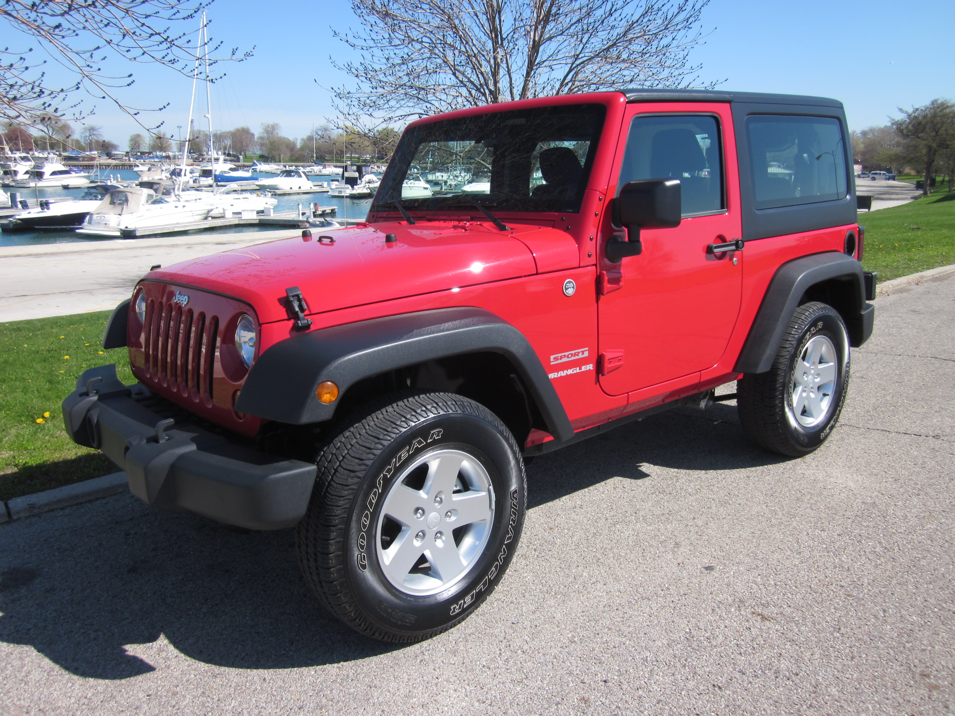 2011 and the Jeep Wrangler