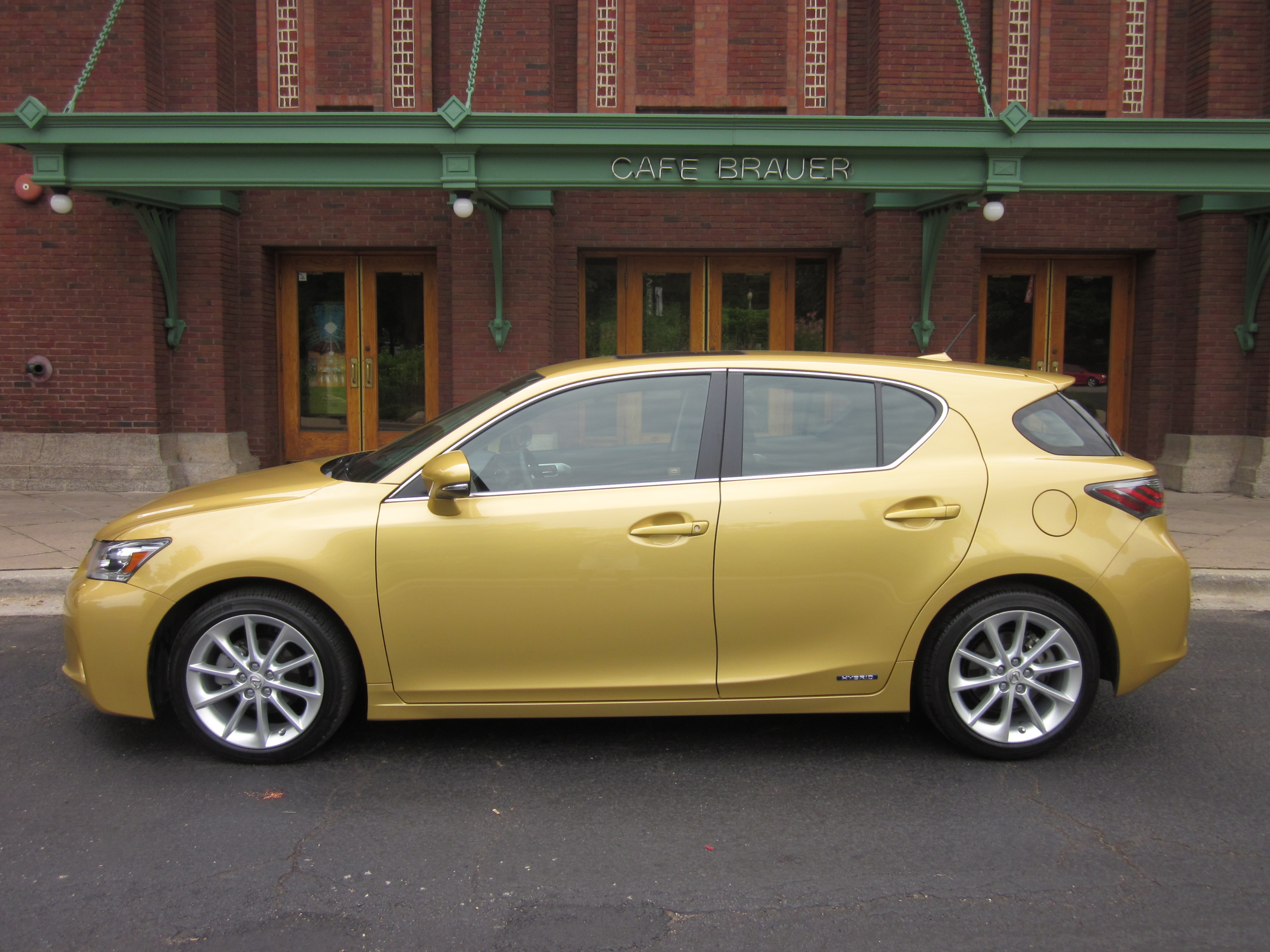 2011 Lexus Ct 200h Hybrid Review Pure Fun To Drive Video Enhanced