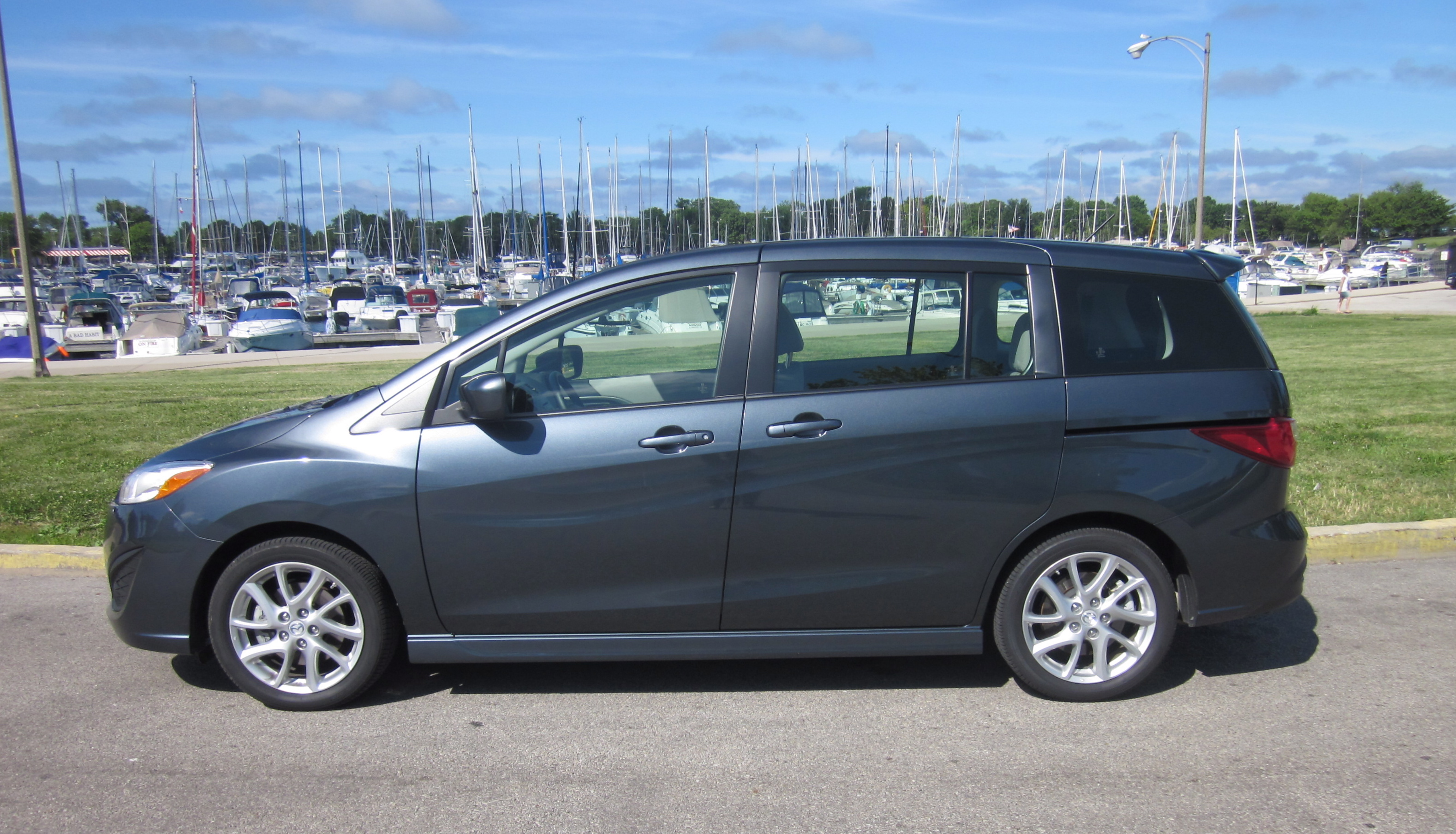 2012 mazda5 the only true minivan review and roadtest