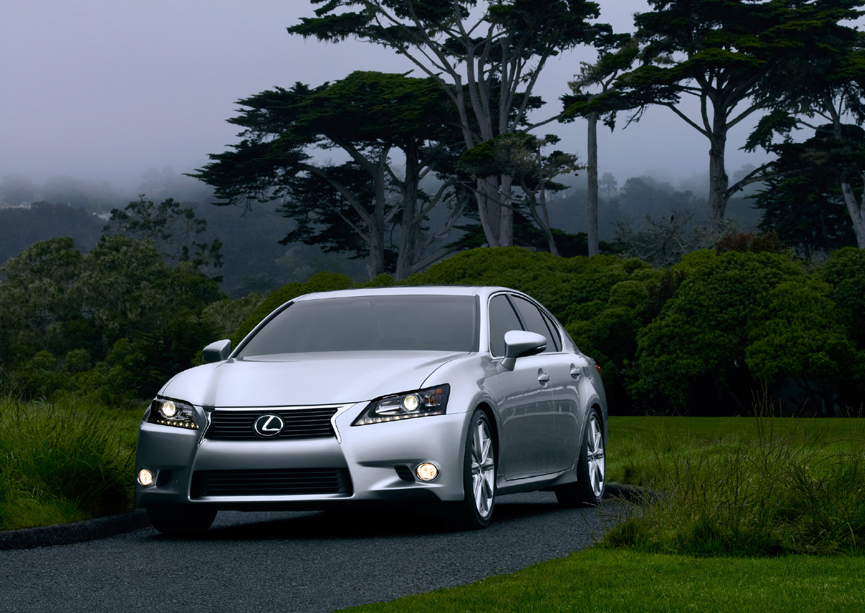 Lexus Reveals All New 2013 GS 350 At Pebble Beach Concours