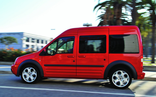 2012 ford connect van
