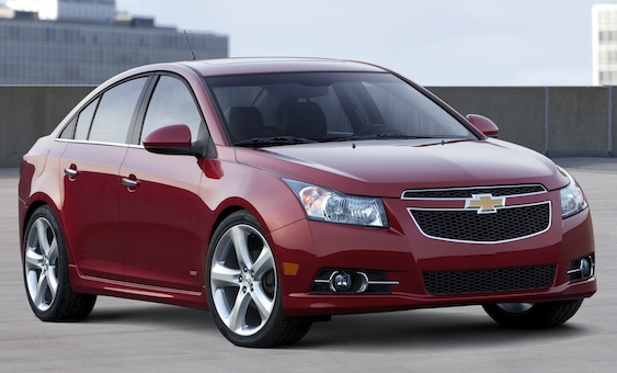 2012 Chevrolet Cruze Review - Cruzing to New York