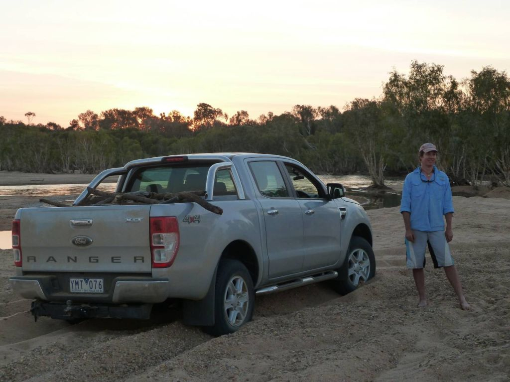 Vallance has beengiven the keys to his very own all-new Ford Ranger ...