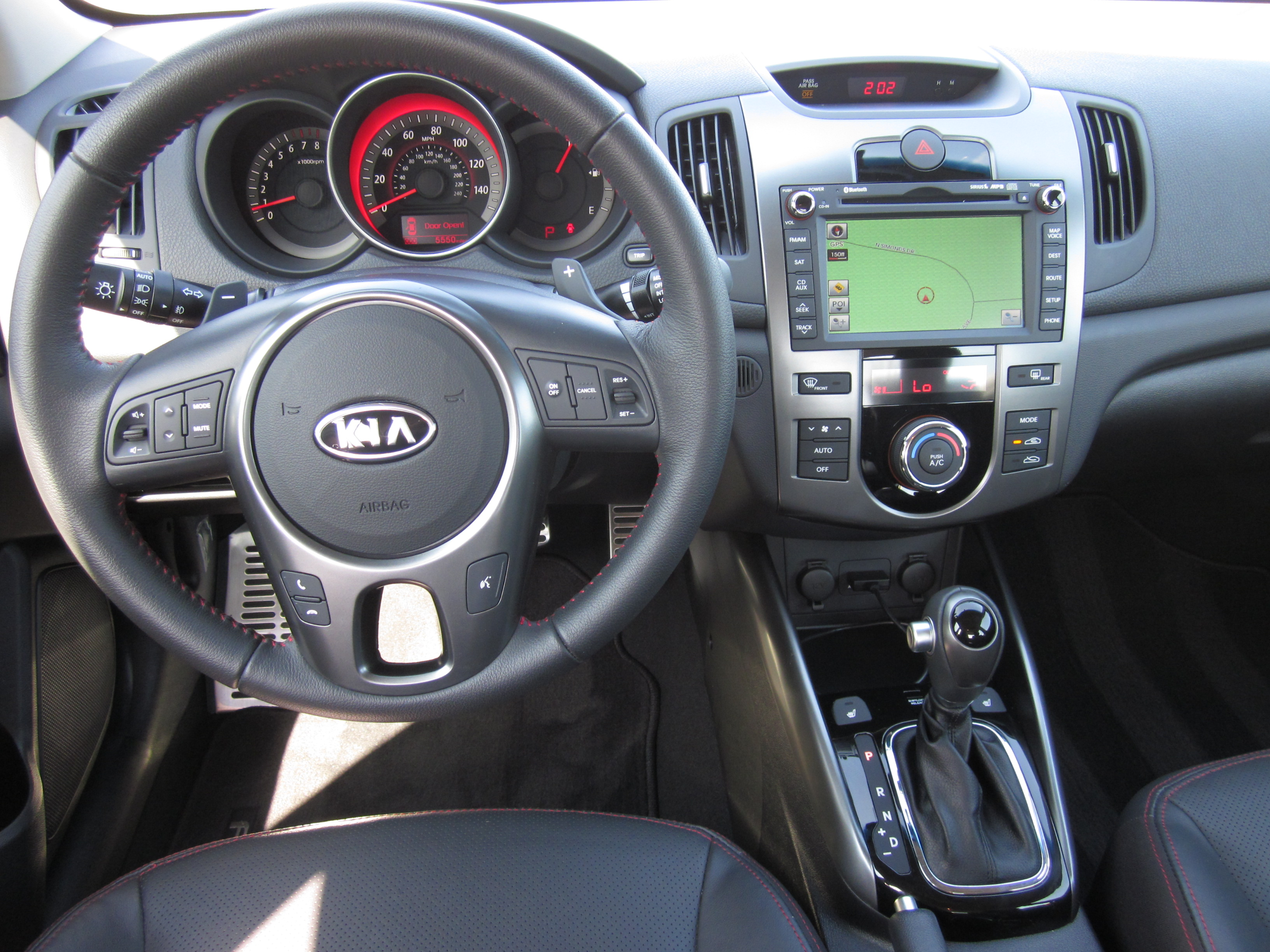 2011 2012 Kia Forte Sx Sedan Review And Road Test By Larry Nutson